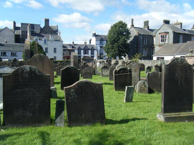 Old Graveyard, Moffat.