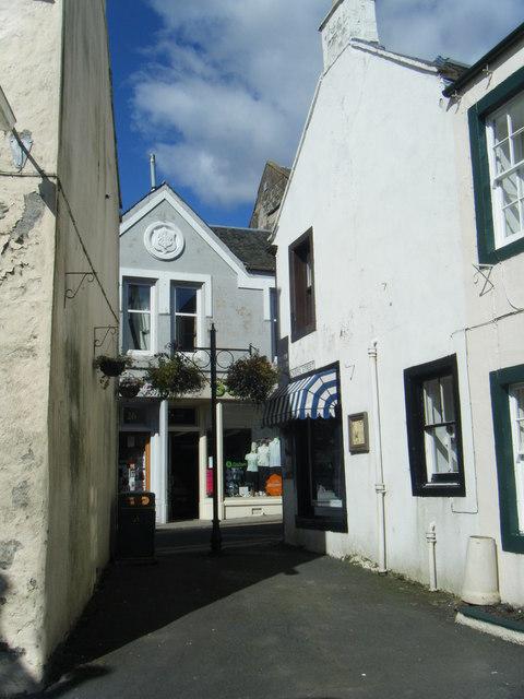 Chapel Street, Moffat.