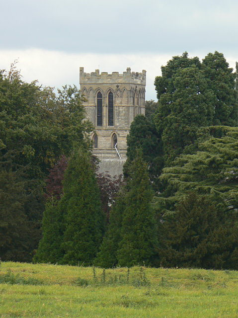 Priory tower