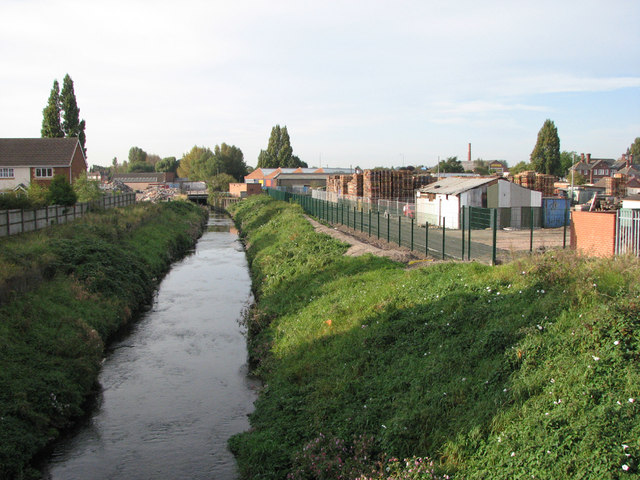 River Leen from Meadow Brown Road