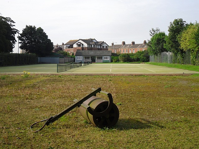 Tennis courts at Stanwix