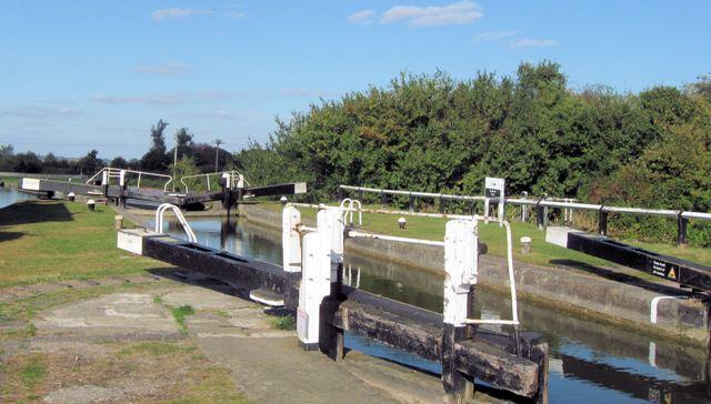 Grand Union Canal – Seabrook Bottom Lock No 34