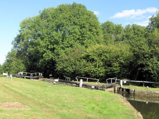 Grand Union Canal – Seabrook Middle Lock No 35