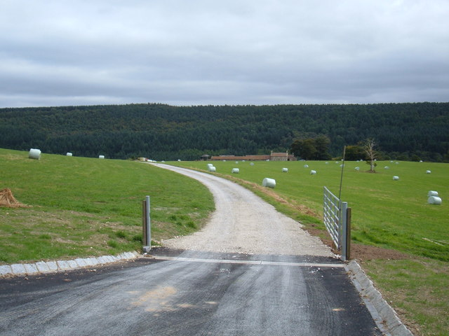 Track to  Middle Farm