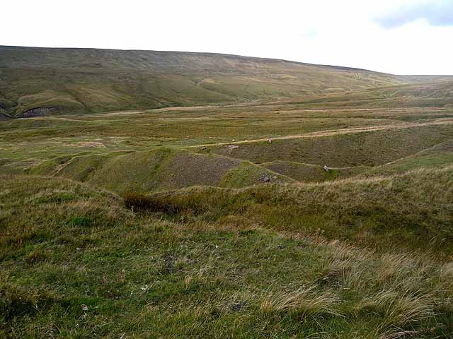 Old mine workings above Langdon Beck