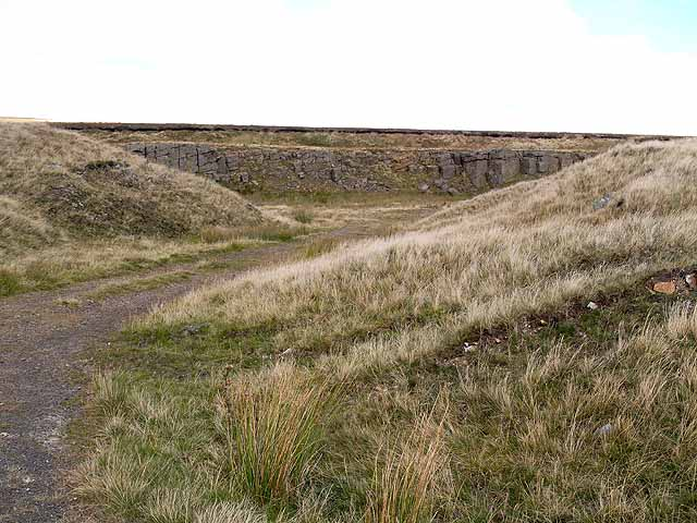 Disused quarry at Harthope Head