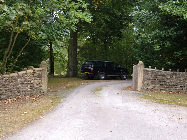 Entrance to Wydale Hall