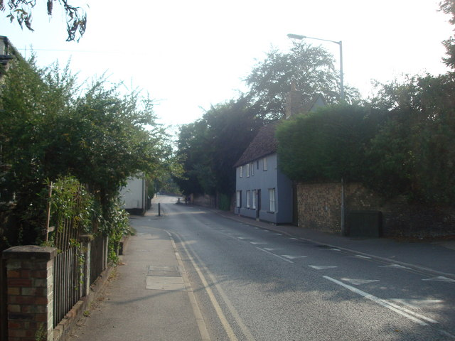 High Street / London Road, Sawston