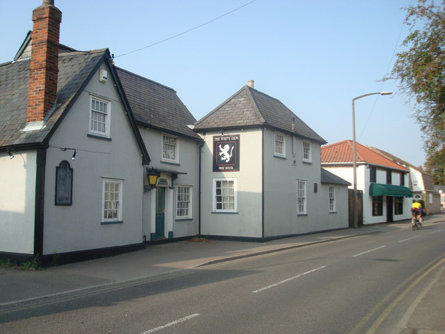 The White Lion public house, Sawston