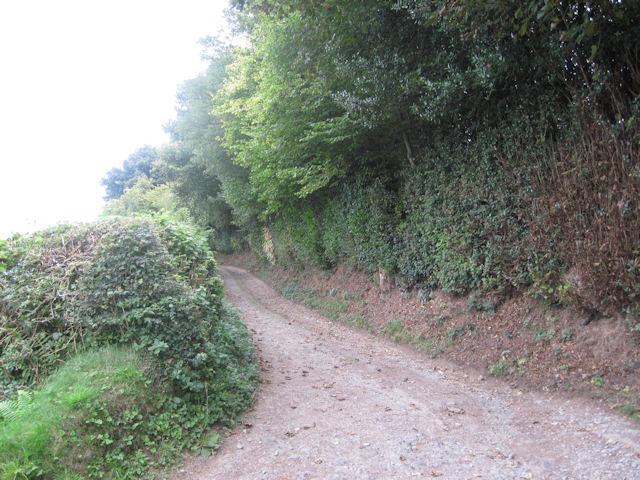 Farm track off B4392