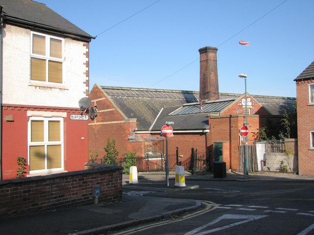 Corner of Burford Road and Gladstone Street