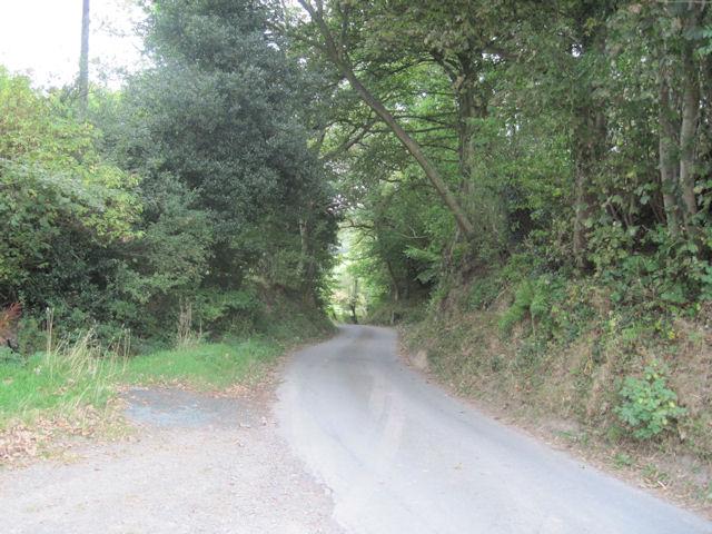 Lane at Pen-y-Gaer
