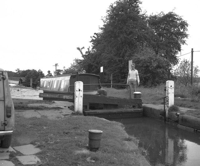 Tardebigge Top Lock No 58, Worcester and Birmingham Canal
