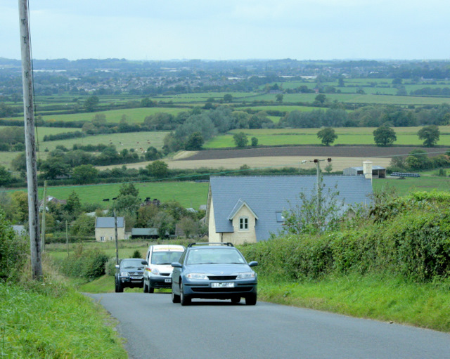 2009 : West near the top of Bencroft Hill