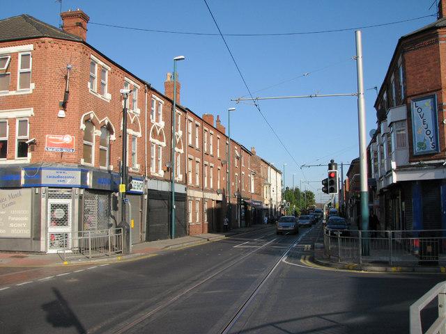 Junction of Radford Road and Berridge Road