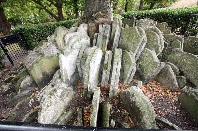 The Hardy Tree, St Pancras (Old Church), Churchyard