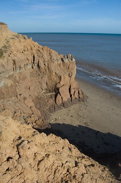 Monkwith cliffs