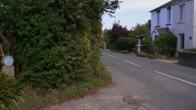St Peter's Road in North Hayling