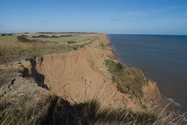 Tunstall coastline