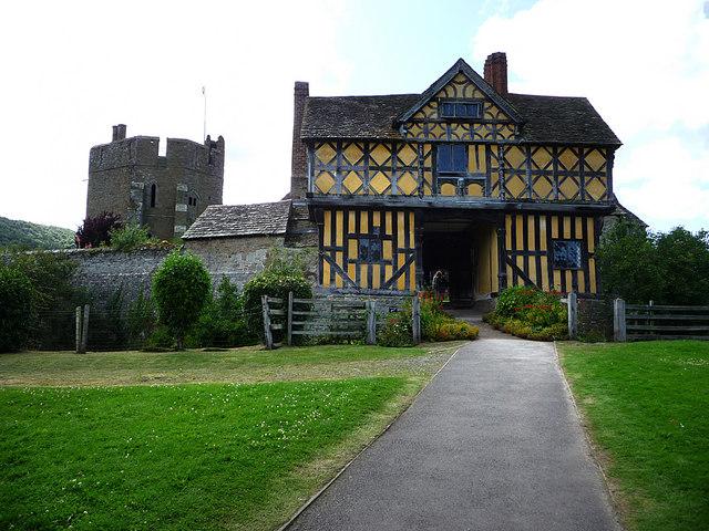 Stokesay Castle gatehouse