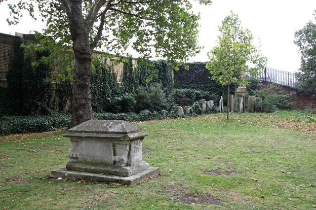 St Pancras (Old Church), London NW1 - Churchyard