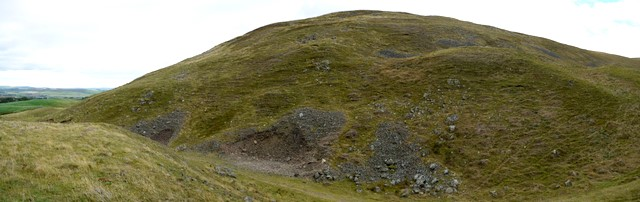 North side of Humbleton Hill