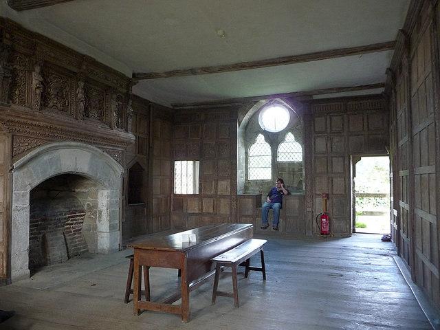 Stokesay Castle, interior