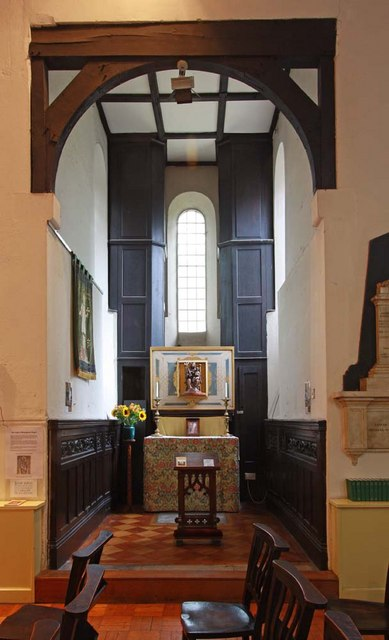 St Pancras (Old Church), London NW1 - Shrine of Our Lady of Walsingham