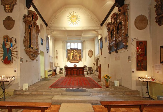 St Pancras (Old Church), London NW1 - Chancel