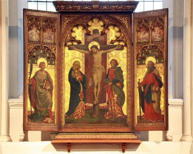 St Pancras (Old Church), London NW1 - Reredos
