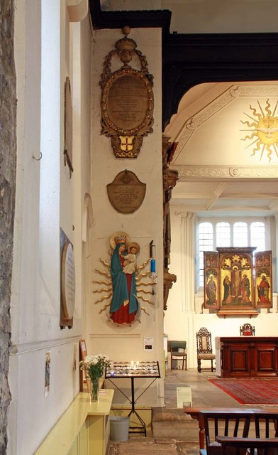 St Pancras (Old Church), London NW1 - Interior