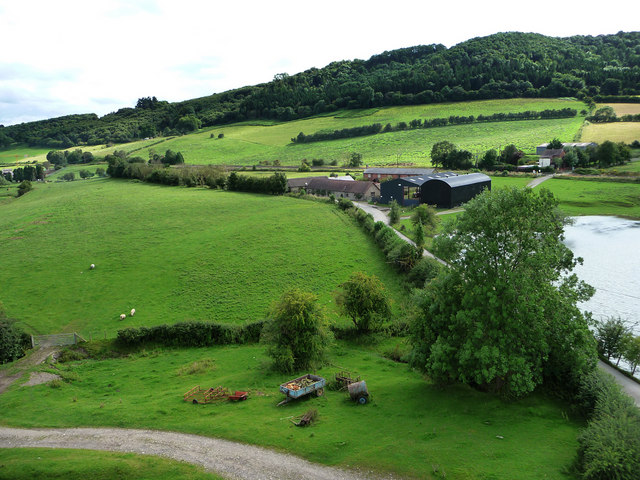 View from Stokesay Castle