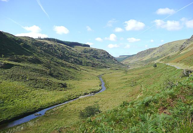The Irfon Valley, Powys