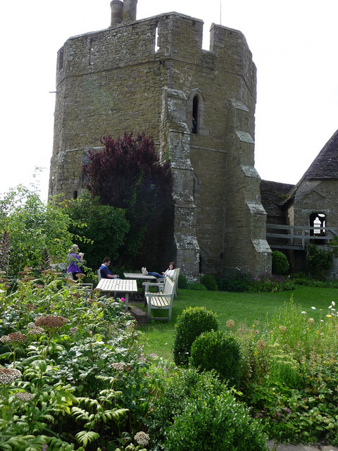 Stokesay Castle, the tower
