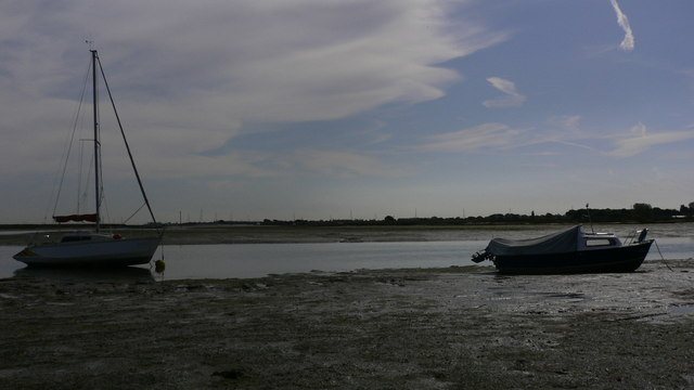 Boats by Hayling Island