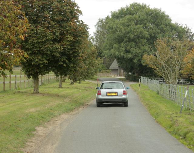 2009 : Turf House Lane passing Hilltop Farm