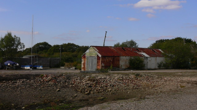Disreputable shed on Hayling Island