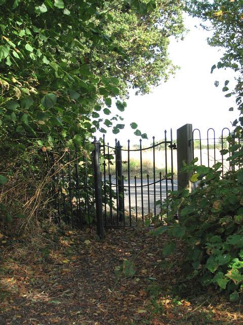Kissing gate at Church Lane