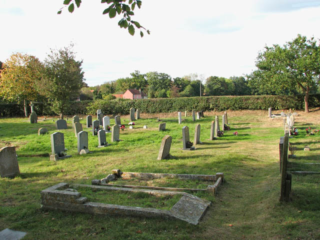 St John the Baptist's church - churchyard