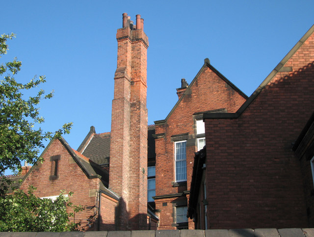 A Tall Chimney Stack