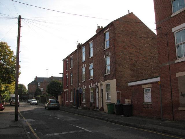 Hawksley Road, Hyson Green