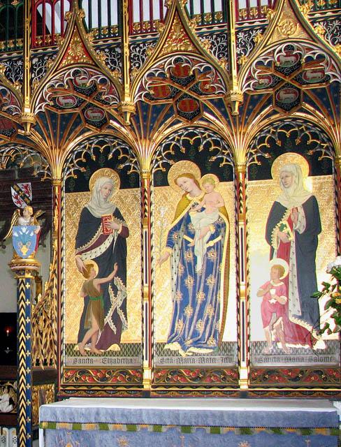 St John the Baptist's church - side altar