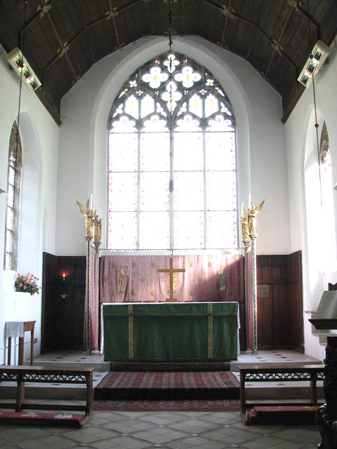 St John the Baptist's church - the sanctuary