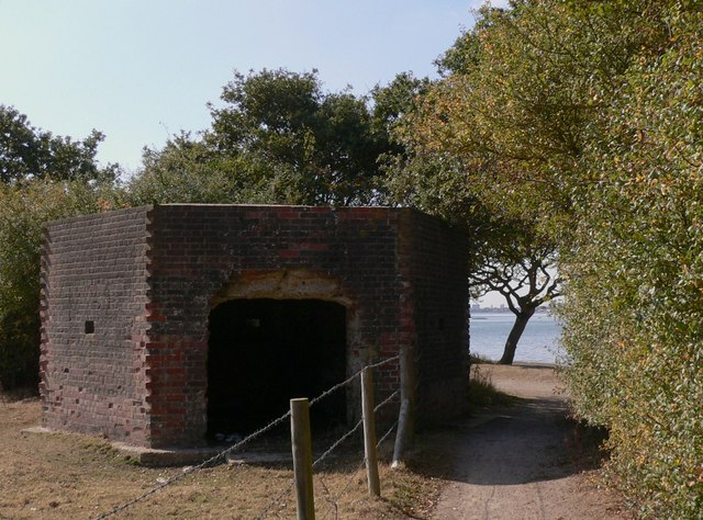 Pillbox by Langstone Harbour