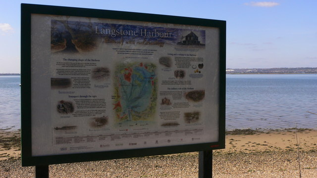 Langstone Harbour Information Board
