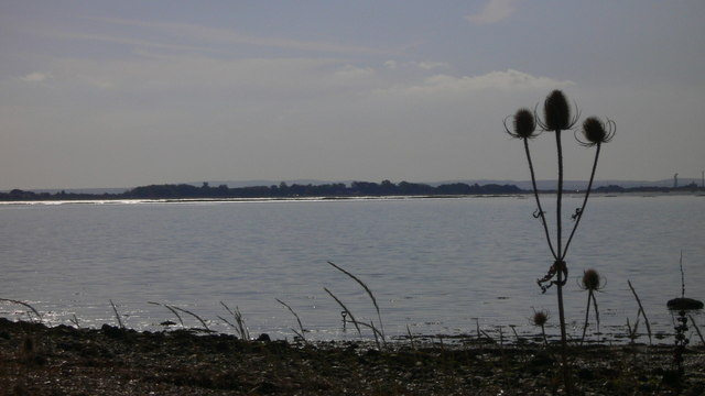 Portsea Island seen from Hayling Island