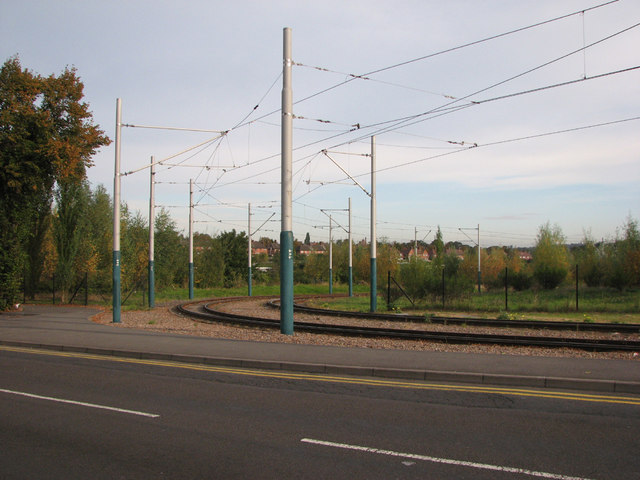 Tram Track and Overhead