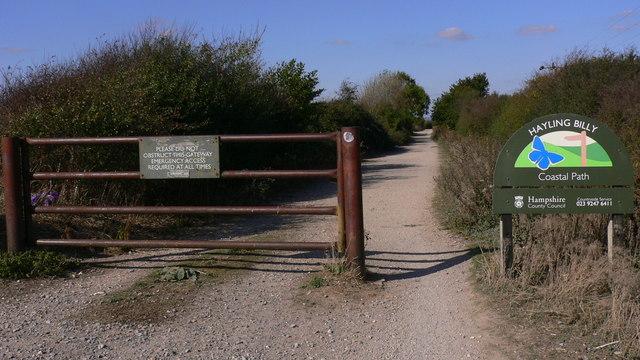 Hayling Billy Coastal Path