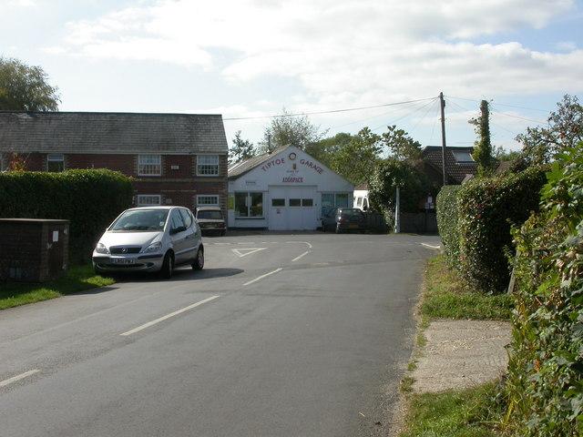 Tiptoe, former garage