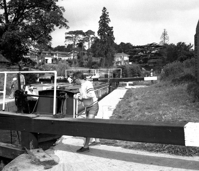 Fladbury Lock, River Avon